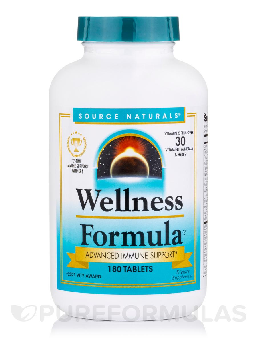Wellness Formula® - 180 Tablets