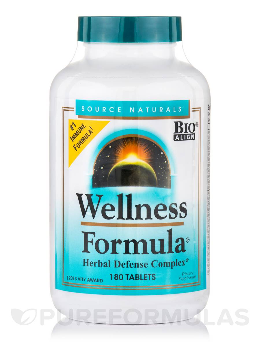 Wellness Formula® - 180 Tablets (CA)