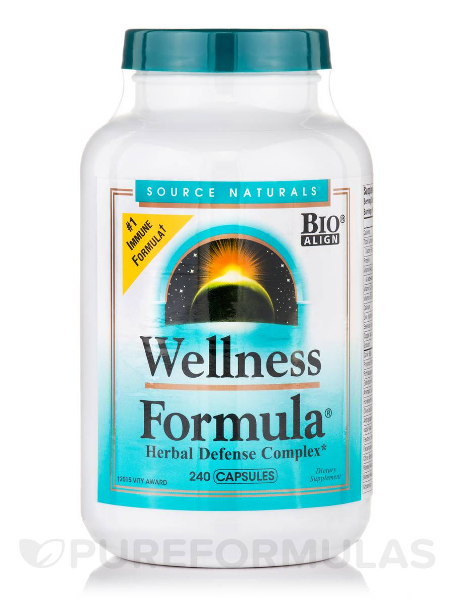 Wellness Formula® - 240 Capsules (Version)
