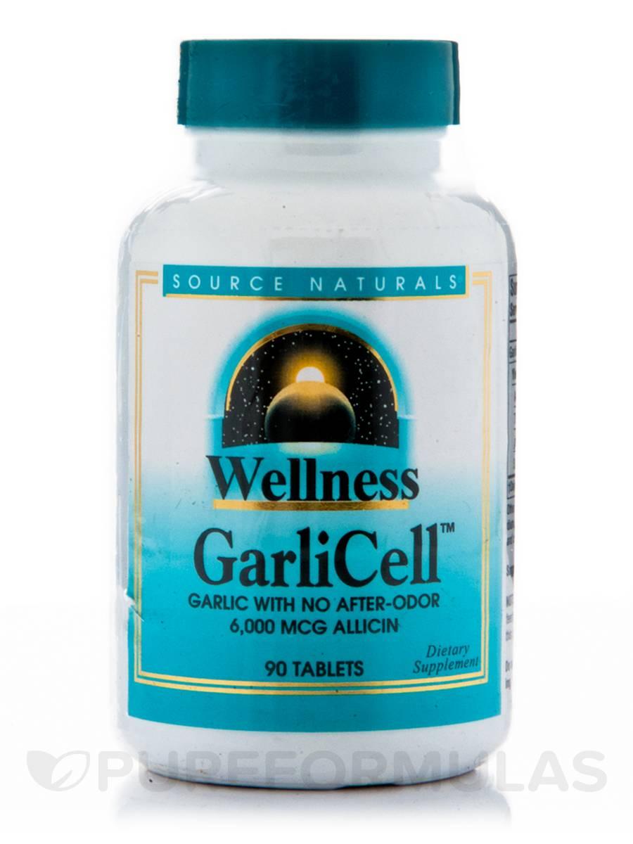 Wellness GarliCell 6000 mcg - 90 Tablets