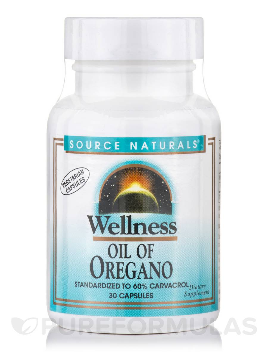 Wellness Oil of Oregano - 30 Capsules