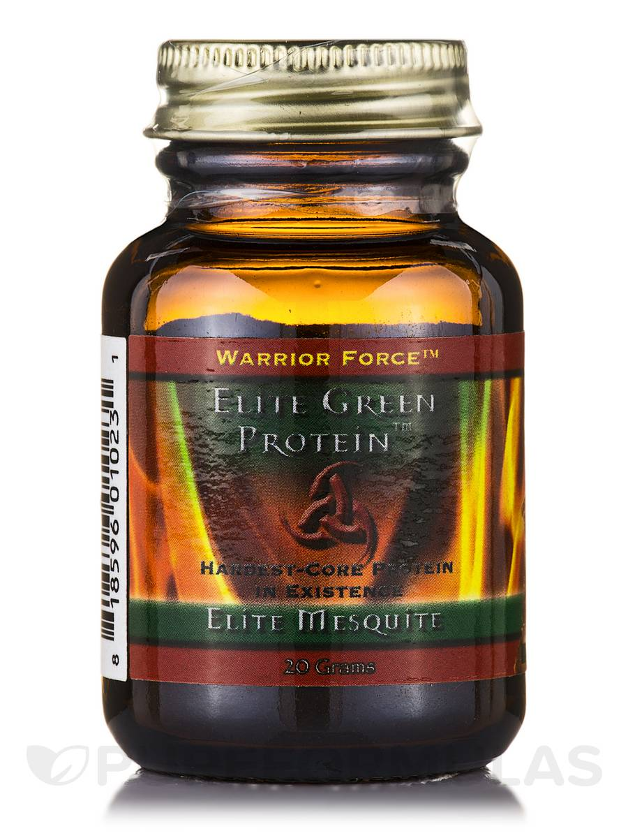 Warrior Force™ Elite Green Protein™ Elite Mesquite Powder - 20 Grams