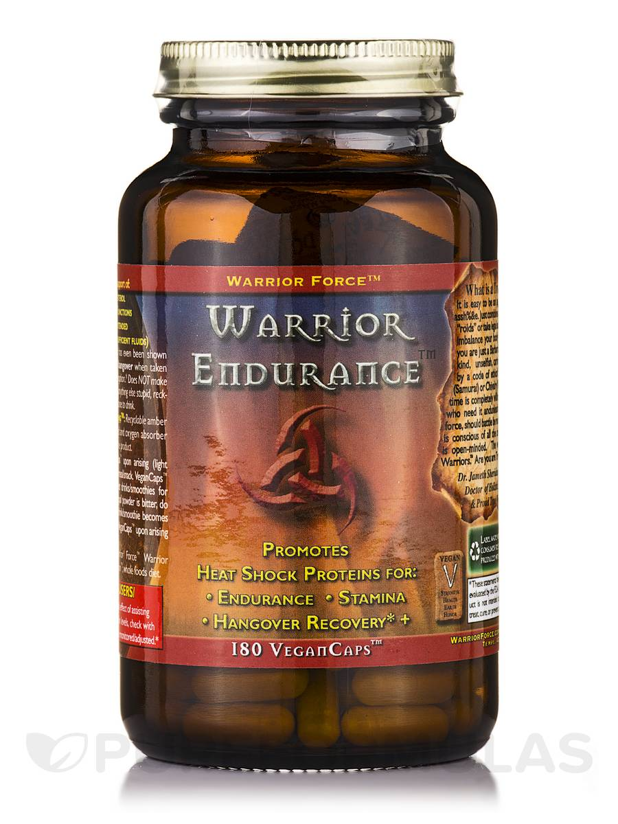 Warrior Force™ Warrior Endurance™ - 180 Vegan Capsules