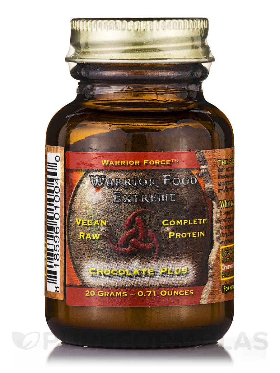 Warrior Force™ Warrior Food™ Extreme Chocolate Plus Powder - 0.71 oz (20 Grams)