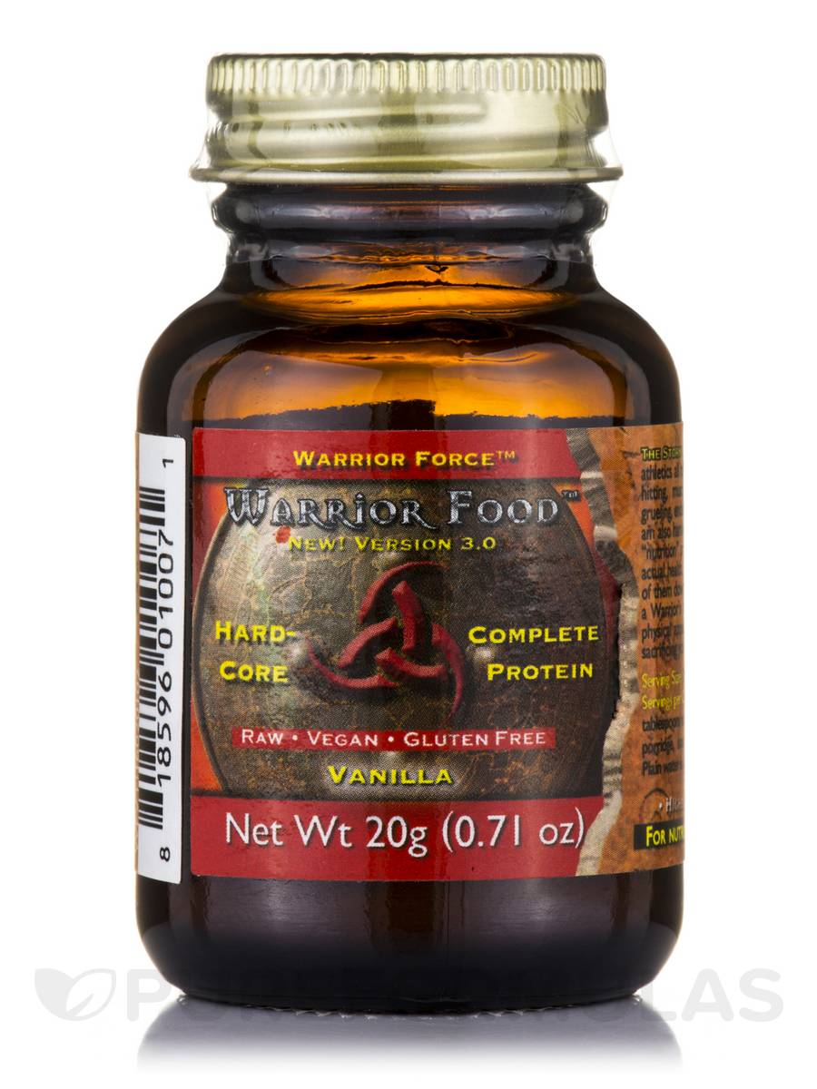 Warrior Force™ Warrior Food™ Extreme Vanilla Plus Powder - 0.71 oz (20 Grams)