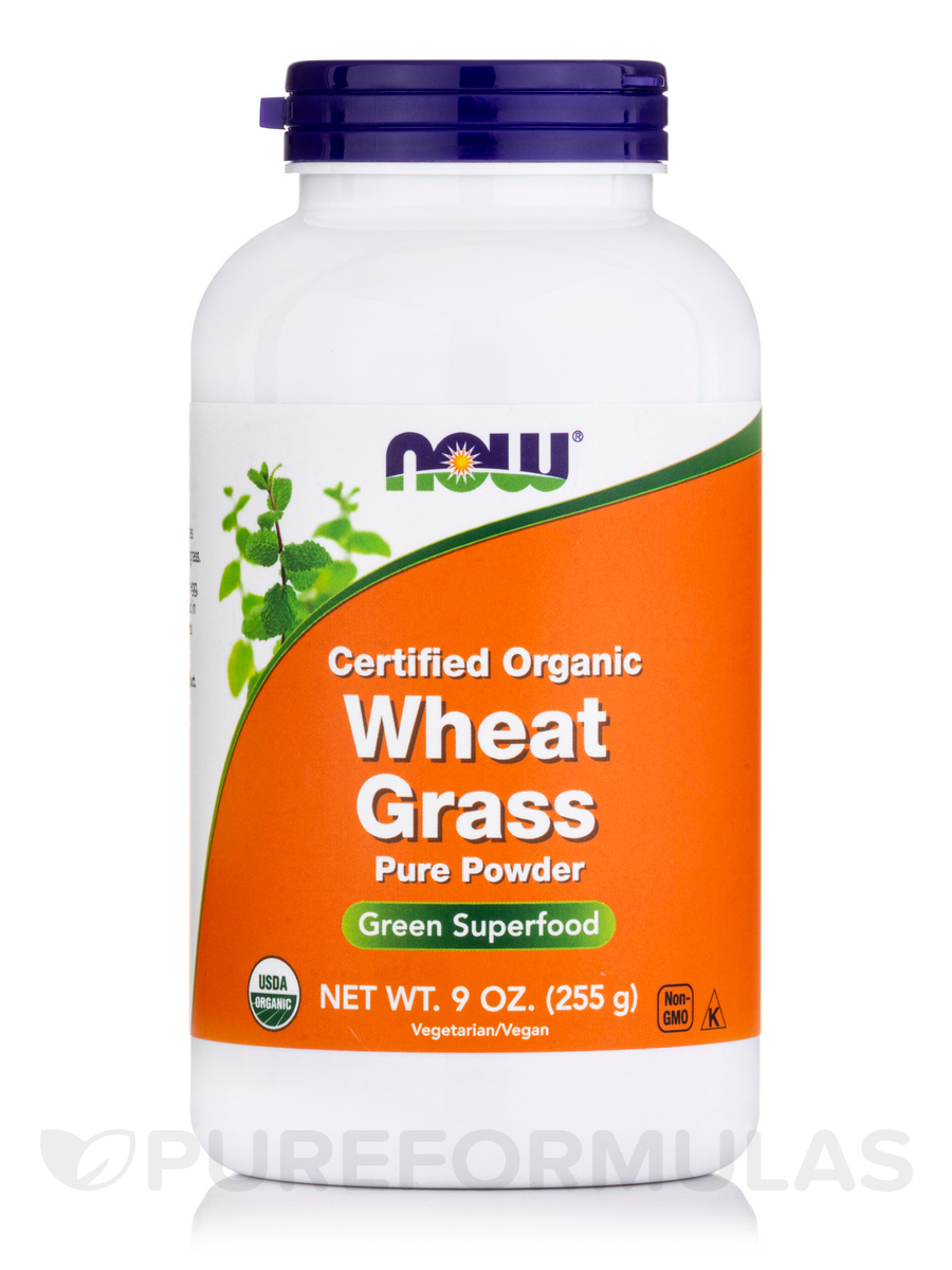Wheat Grass Powder (Organic) - 9 oz (255 Grams)