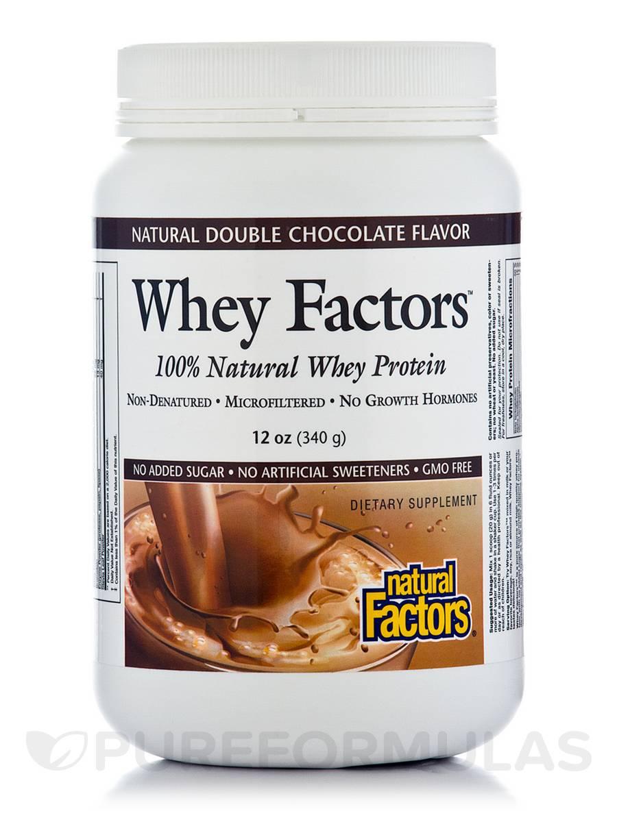 Whey Factors Powder Mix Chocolate - 12 oz (340 Grams)