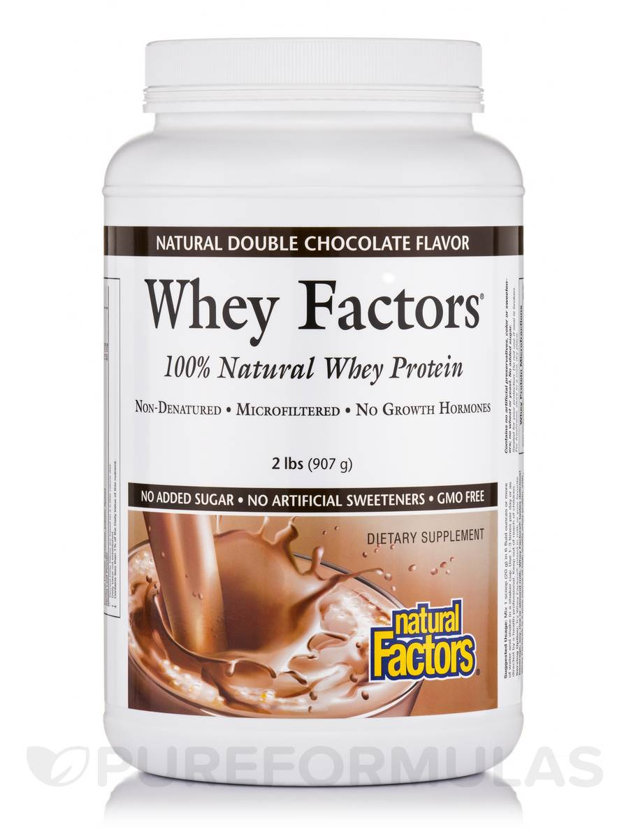 Whey Factors Powder Mix Chocolate - 2 lbs (907 Grams)