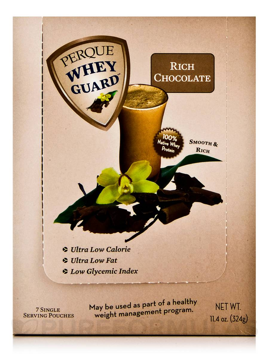 Whey Guard Meal Rich Chocolate - 7-Pack - (11.4 oz - 324 Grams)