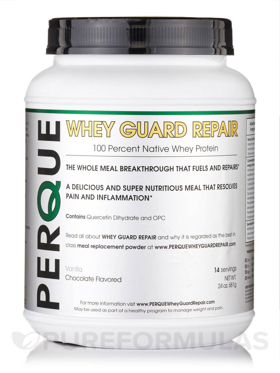 Whey Guard Repair Chocolate - 24 oz (681 Grams)