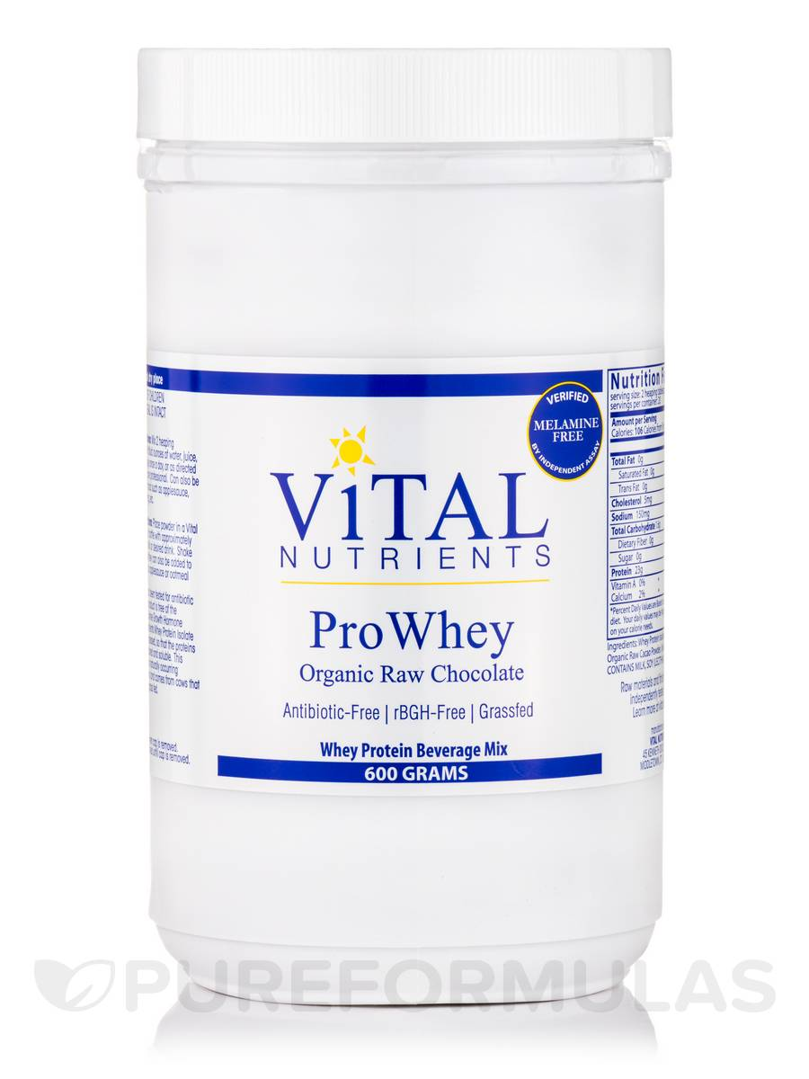 Whey Powder 92% (New Zealand High Protein) with Organic Raw Cacao - 600 Grams