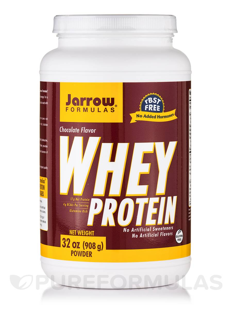 Whey Protein, Chocolate Flavor - 32 oz (908 Grams)