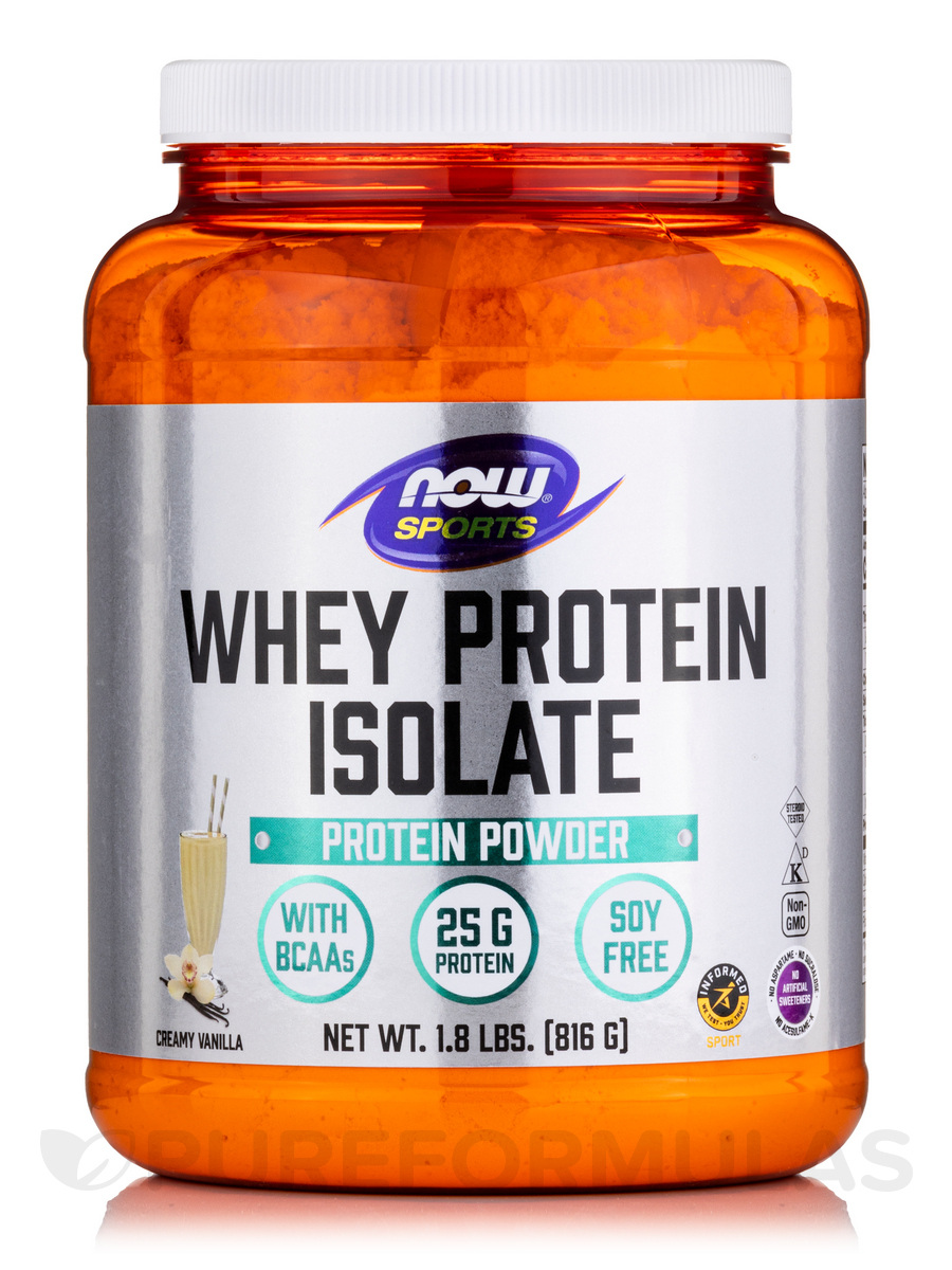 Why protein isolate