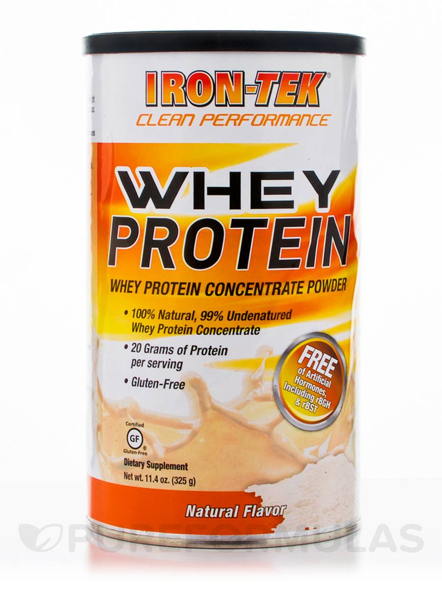 Whey Protein, Natural Flavor - 11.4 oz (325 Grams)