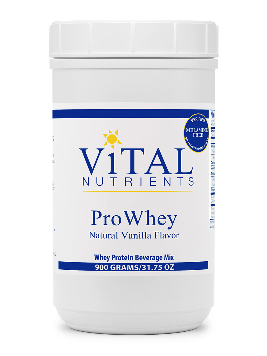 ProWhey Powder, Natural Vanilla Flavor - 900 Grams