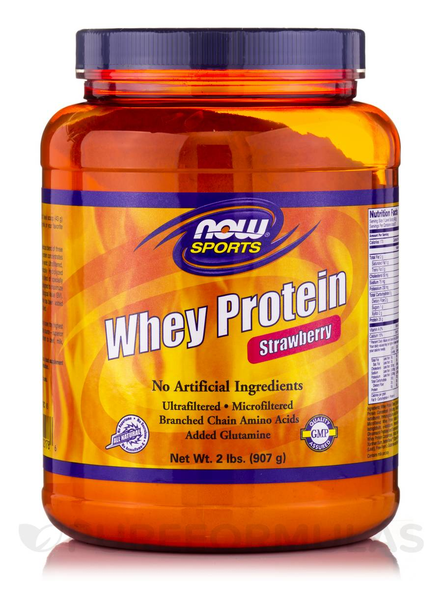 Flavors of whey protein