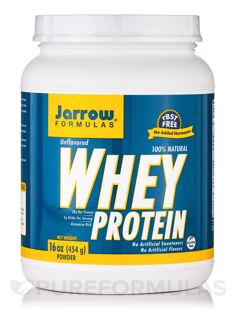 Whey Protein Unflavored - 16 oz (454 Grams)