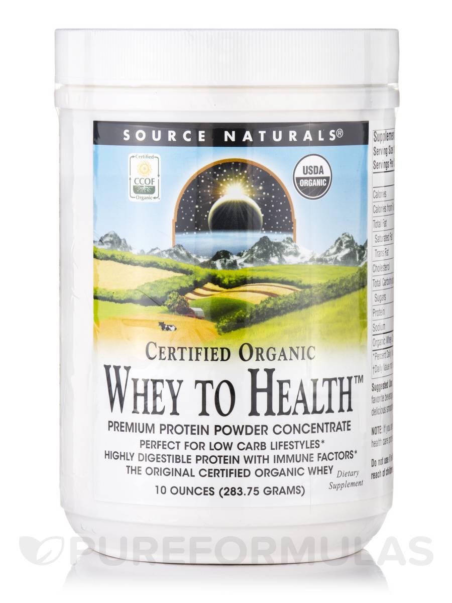 Whey To Health Powder - 10 oz (283.75 Grams)