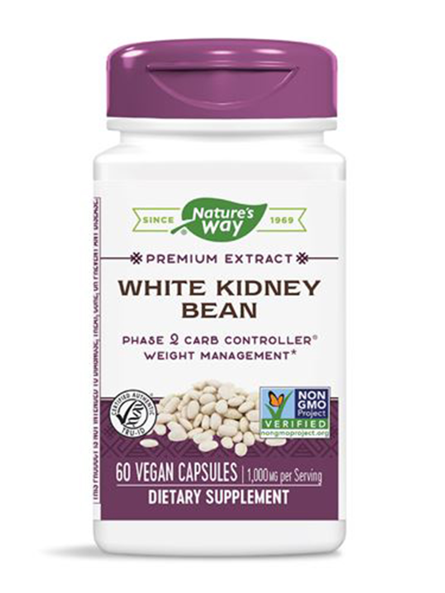 White Kidney Bean Extract 60 Vegetarian Capsules