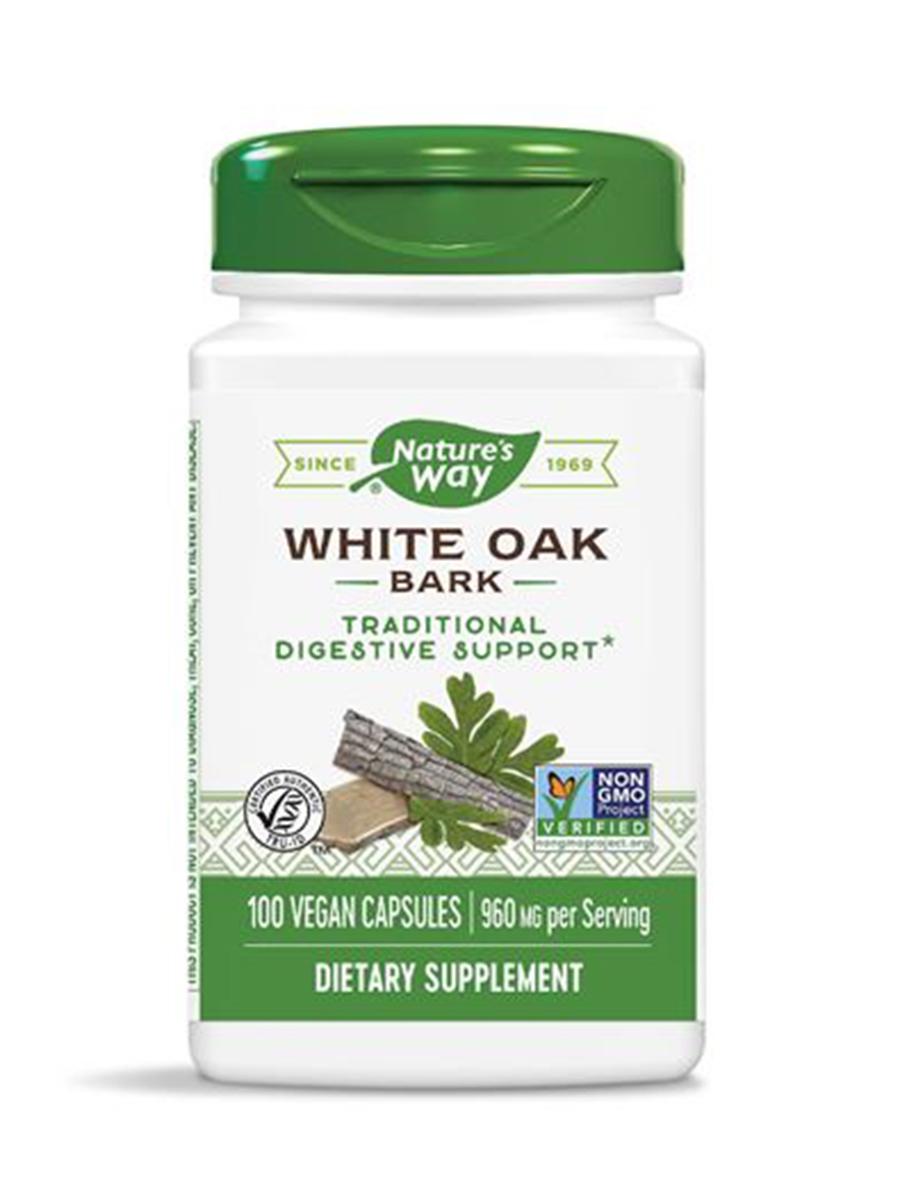 White Oak Bark 480 mg - 100 Capsules