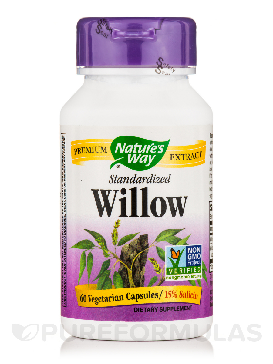White Willow Standardized - 60 Capsules
