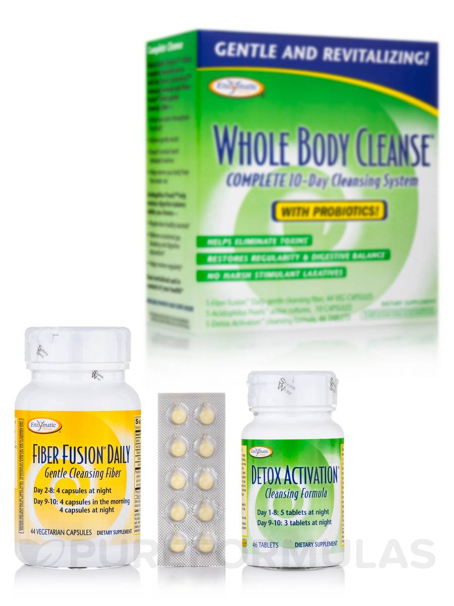 Whole Body Cleanse Kit with Probiotics - 10-Day Supply
