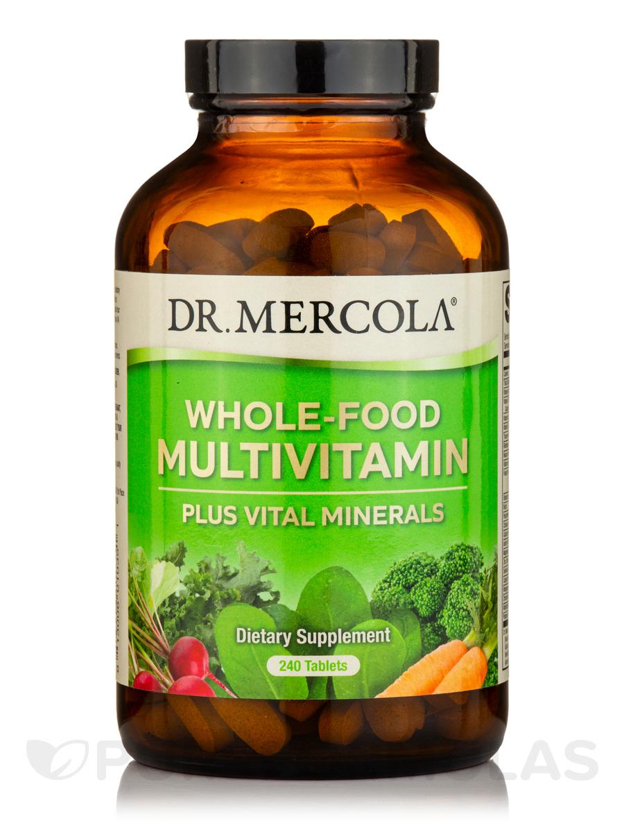 Whole Food Multivitamin Plus Vital Minerals - 240 Tablets