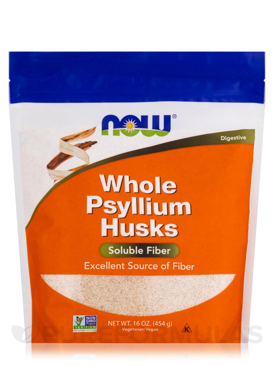Whole Psyllium Husks - 16 oz (454 Grams)