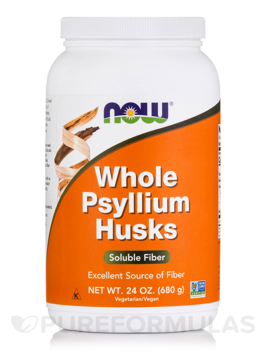 Whole Psyllium Husks - 24 oz (680 Grams)