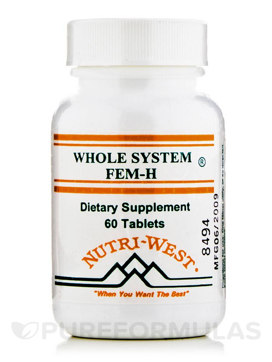 Whole System Fem-H - 60 Tablets