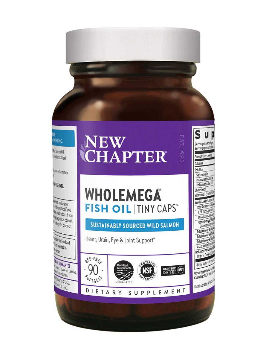 Wholemega® Tiny Caps 500 mg - 90 Softgels