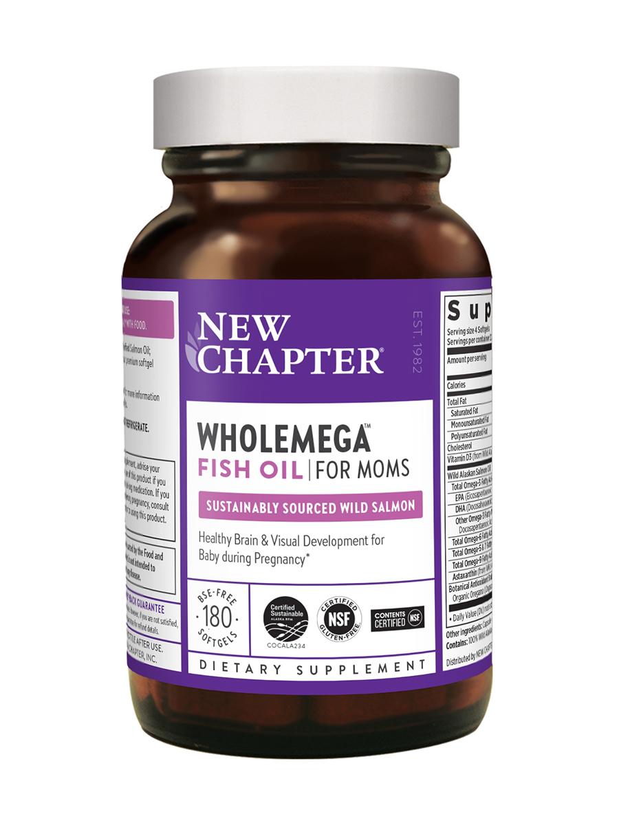 Wholemega® for Moms 500 mg - 180 Softgels