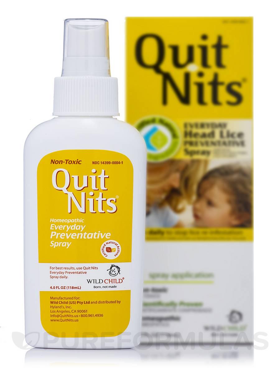 Wild Child Quit Nits Everyday Preventative Spray - 4.0 fl. oz (118 ml)