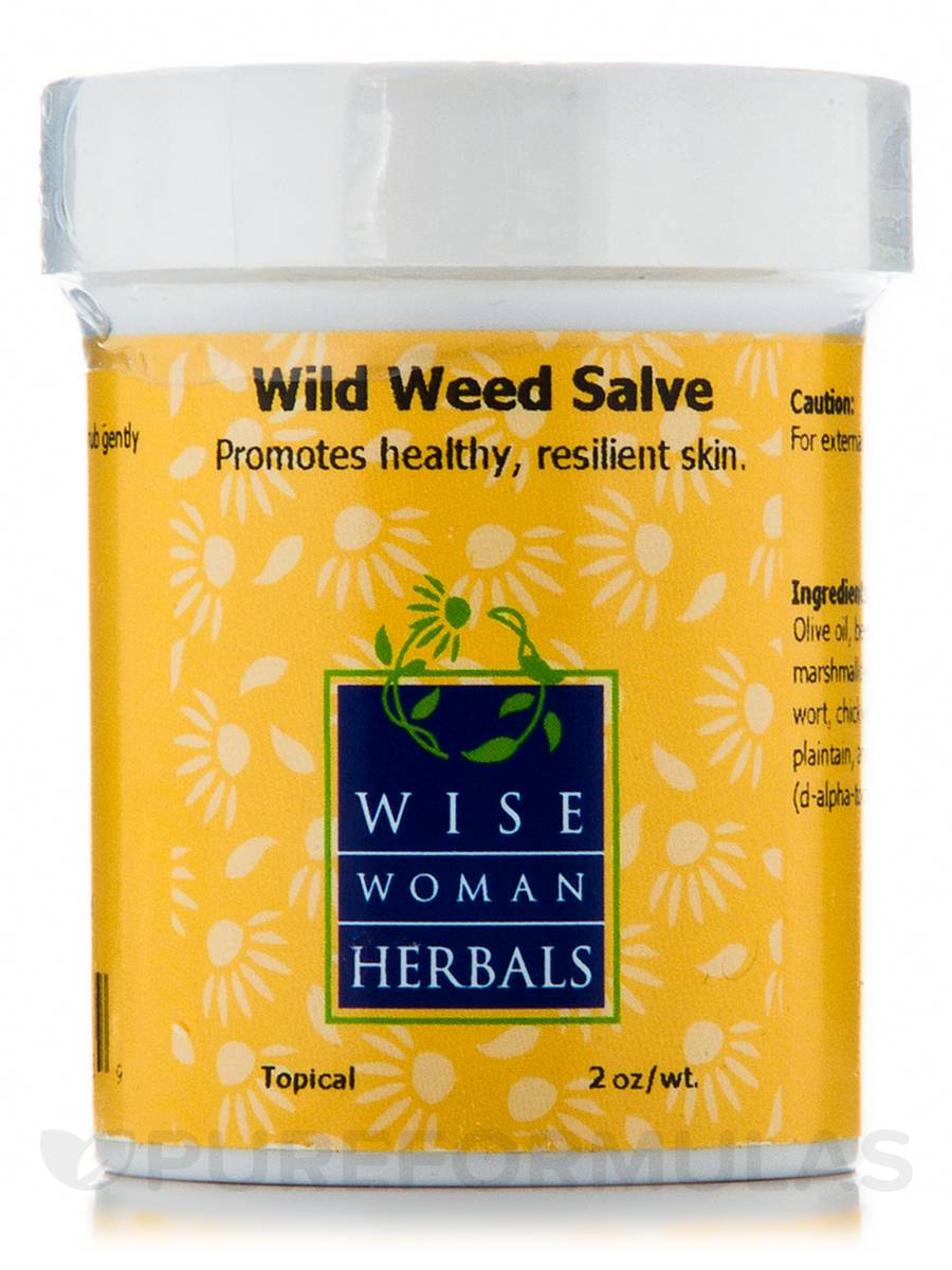 Wild Weed Salve - 2 oz