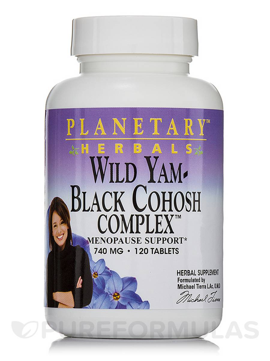 Wild Yam Black Cohosh Complex 740 mg - 120 Tablets
