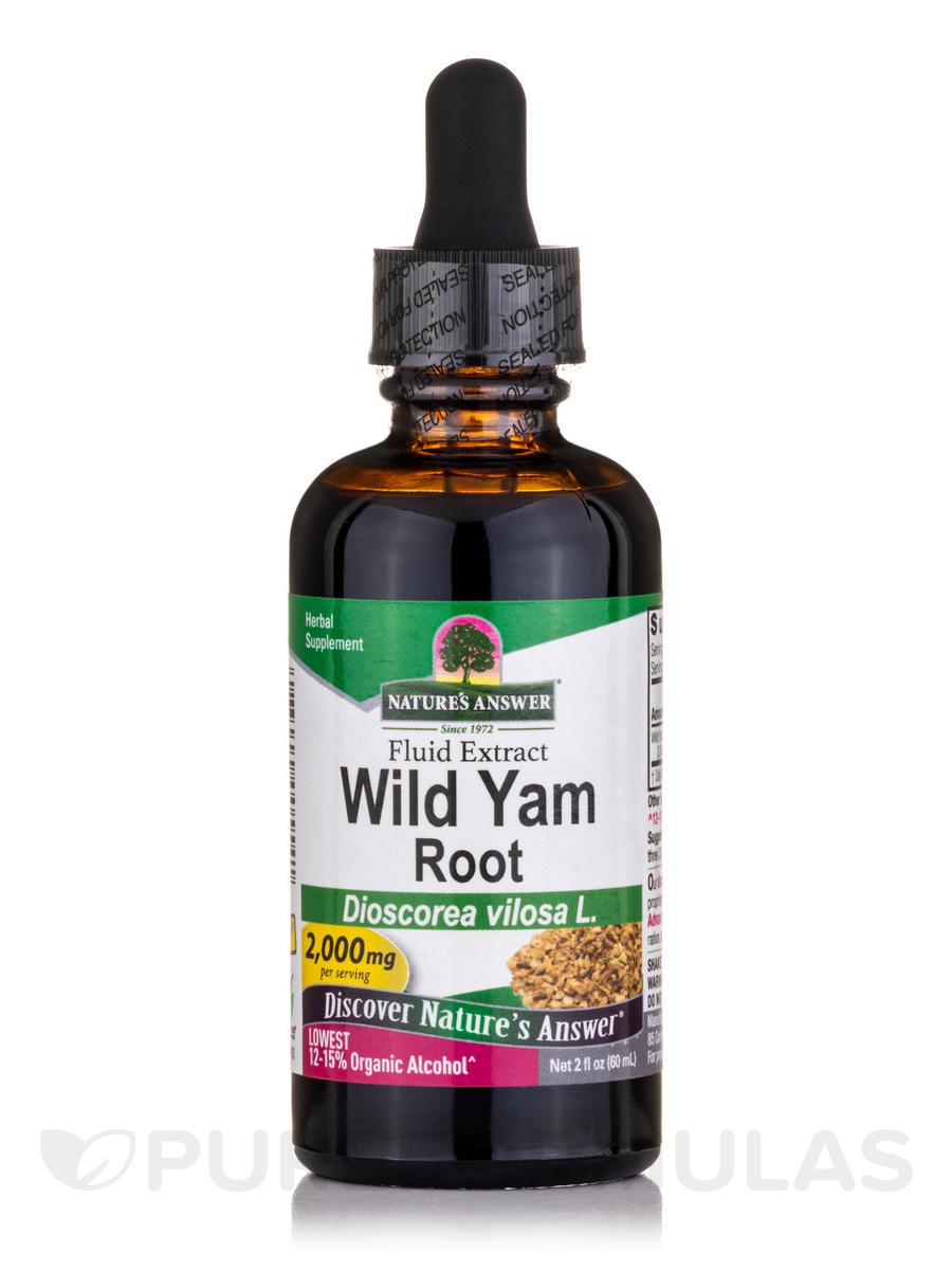 Wild Yam Root Extract - 2 fl. oz (60 ml)
