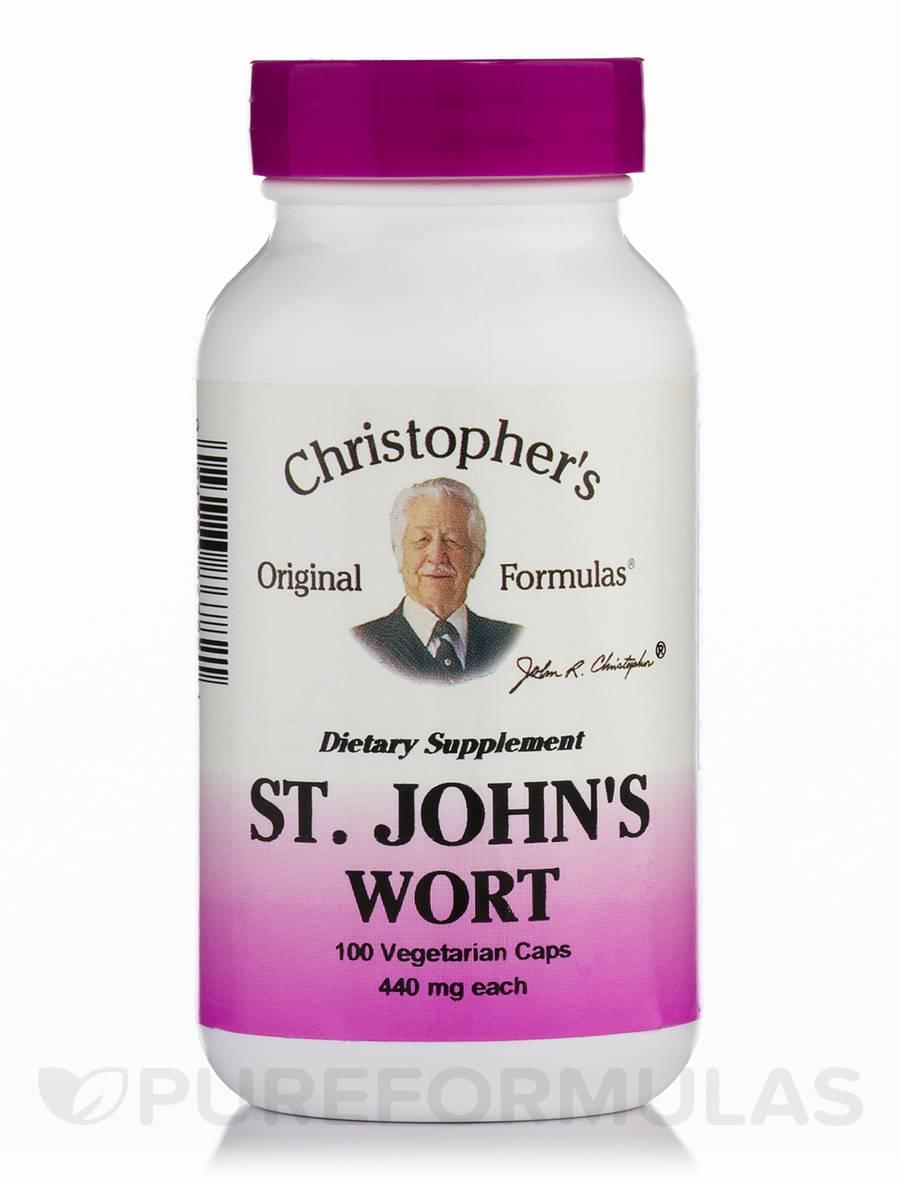 St. John's Wort - 100 Vegetarian Capsules