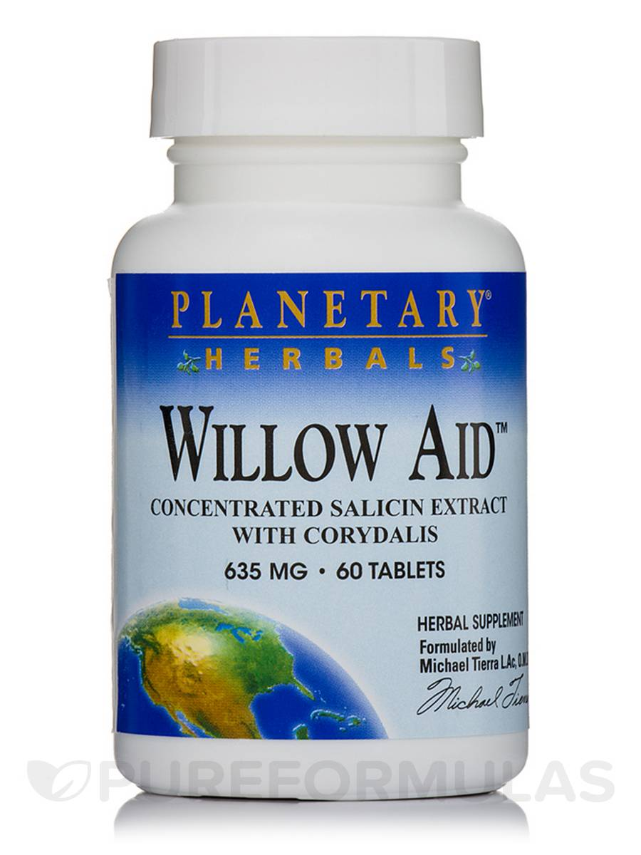 Willow Aid 635 mg - 60 Tablets