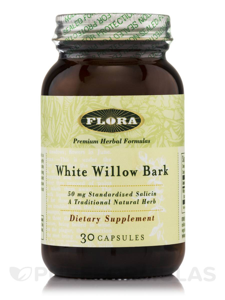 Willow Bark Extract - 30 Capsules
