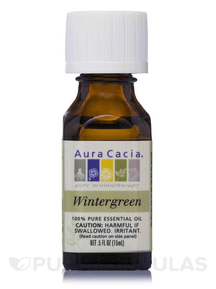 Wintergreen Essential Oil (gualtheria procumbens) - 0.5 fl. oz (15 ml)