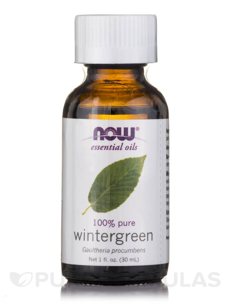 NOW® Essential Oils - Wintergreen Oil - 1 fl. oz (30 ml)