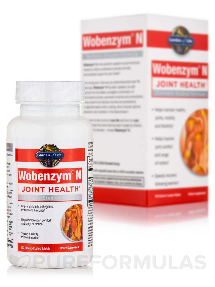 Wobenzym® N - 100 Enteric-Coated Tablets