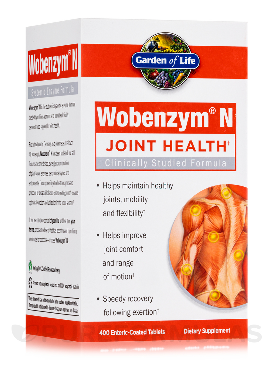 Wobenzym® N - 400 Tablets