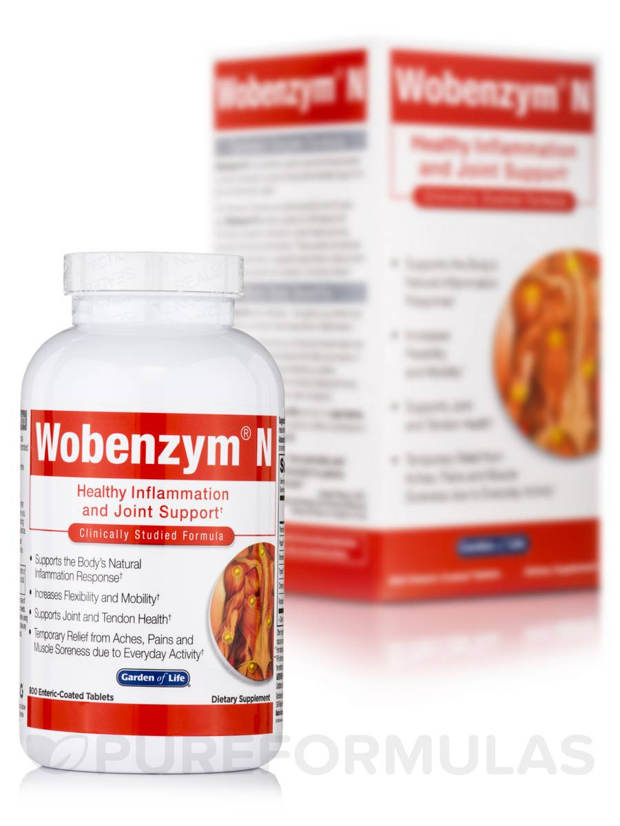 Wobenzym® N - 800 Enteric Coated Tablets