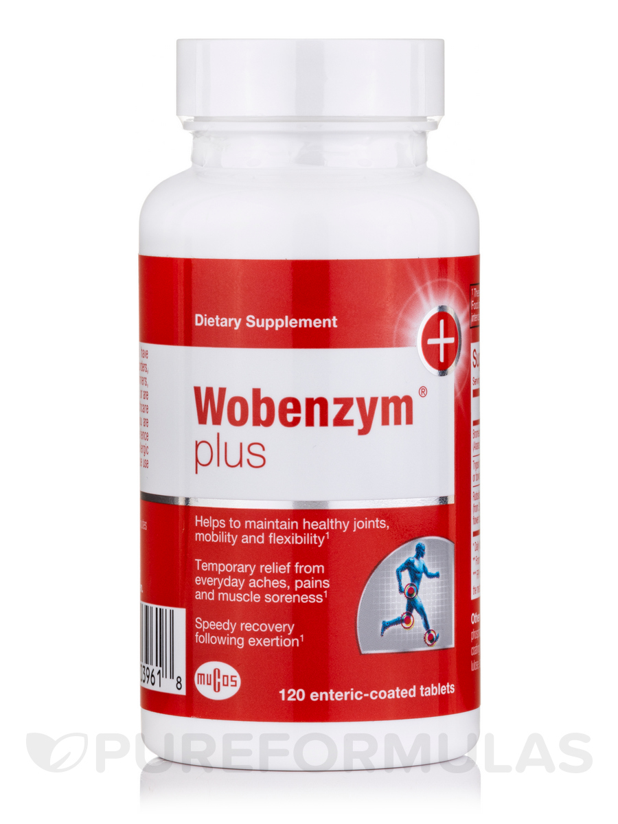 Wobenzym® Plus - 120 Enteric-Coated Tablets