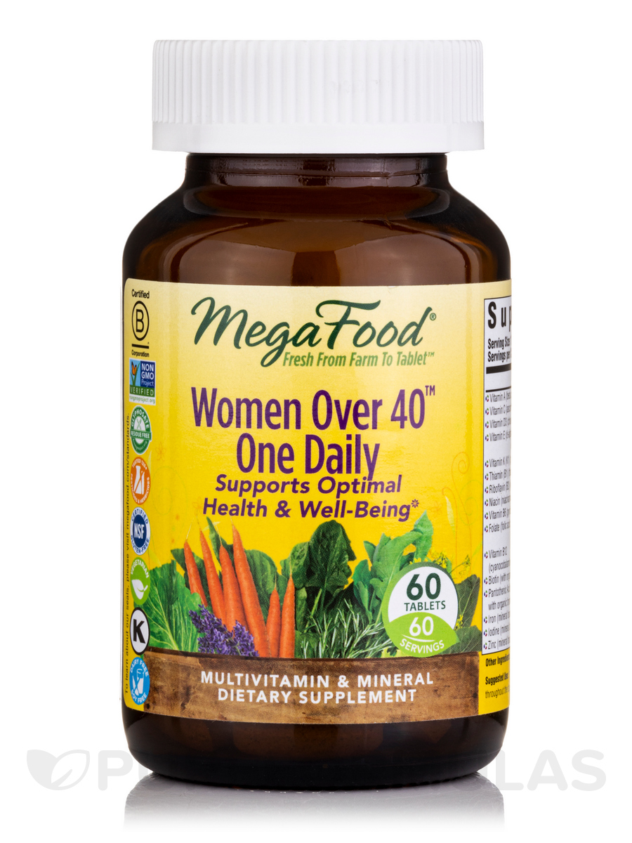 Women Over 40™ One Daily - 60 Tablets