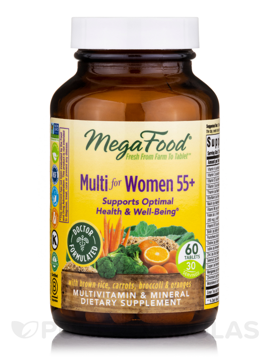 Multi for Women 55+ - 60 Tablets