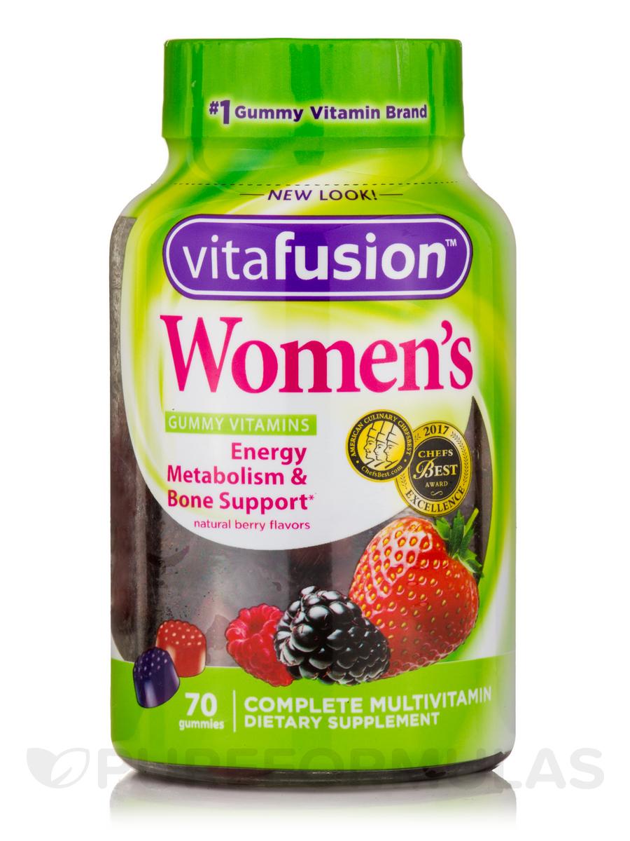 Women's Complete Multivitamin Gummy (Natural Berry Flavors) - 70 Gummies