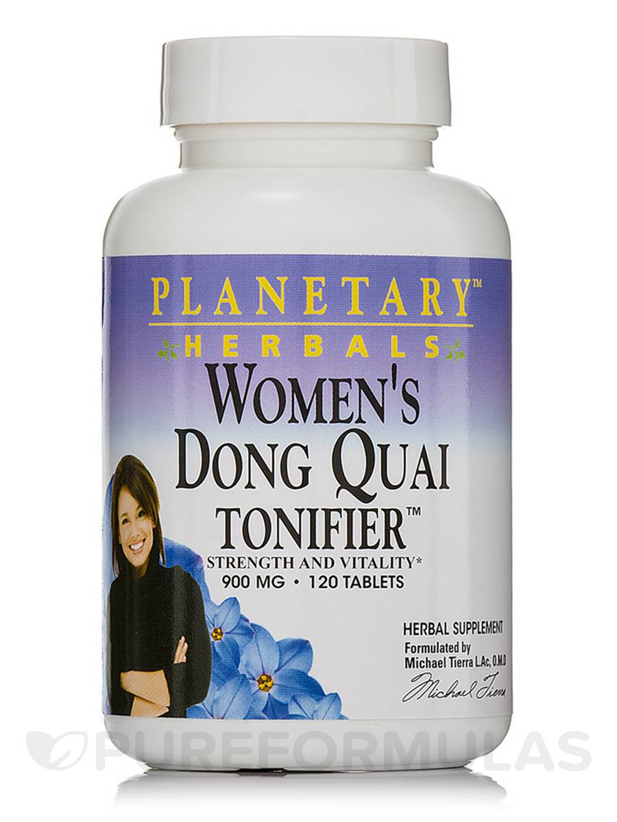 Women's Dong Quai Tonifer 900 mg - 120 Tablets