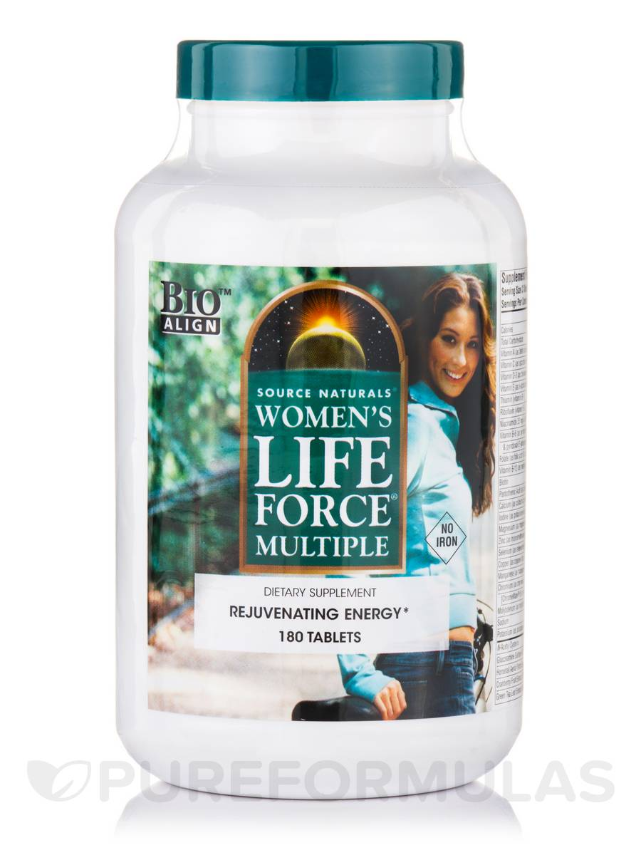 Women's Life Force® Multiple No Iron - 180 Tablets